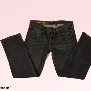 J. Crew Women's Matchstick Dark Wash Jeans…